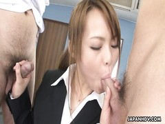 steamy chinese jizz-shotgun dicksucker pleases the dude's sausage Thumb