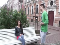 informal teenage  sex - casual sex with blooming teeny two Thumb