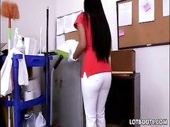 big bootie latina maid Soffie gets nailed Thumb