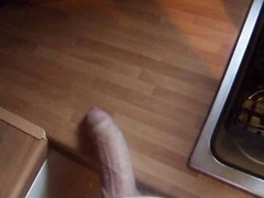 female is hurting his man-meat with a knife and boots Thumb
