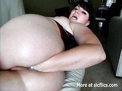 She cant cease going knuckle deep  her ass hole Thumb
