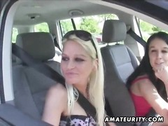 2 super hot fledgling  bitches in this outdoor groupsex act dull! They're paid to be penetrated dull Thumb