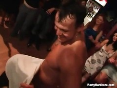 inexperienced women gargle  stripper man-meat at a party Thumb