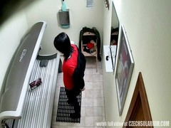 Here is the top hidden camera in solarium! You havent seen this before! We breached into the privacy Thumb