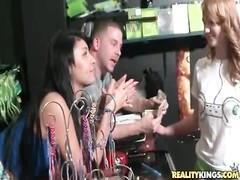 inexperienced lets them film her titties for money Thumb