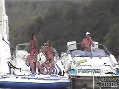 bikinis are pretty on these boat babes Thumb