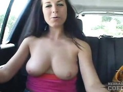 Tube safe damsel massages breasts and showers Thumb