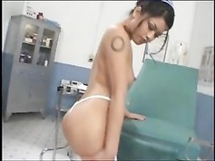 nice oriental nurse contain hook-up  in doctor office Thumb