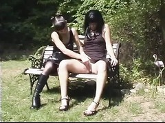 two hot fetish lesbians believe an outdoor sexual encounter Thumb