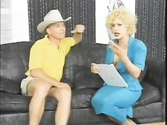 Vintage ass fucking boring blondie tramp Dakota in tall heels Thumb