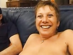 French aged deep anal invasion and facial Thumb