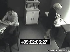 damsel pees in coworkers drink on office security cam Thumb