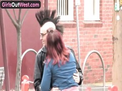 damsels  Out West - amateur Australian punk lovers having hook-up Thumb