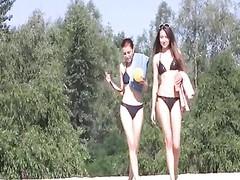 young naturist  beach teens - nudists Thumb