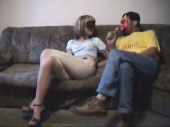 Masked wife suck and fuck with him Thumb