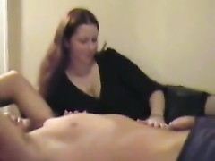 fledgling  wifey  handles his man-meat very approved Thumb