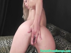 Facial loving blondes oral pleasure for stud Thumb