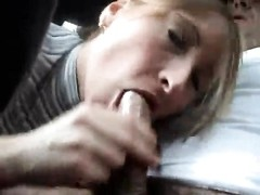 doll  deepthroats condom man-meat in the car Thumb