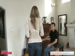 mummy  in remarkable  denims Julia Ann gets plumbed Thumb