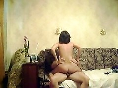 wifey rides husband finishes off insde her Thumb