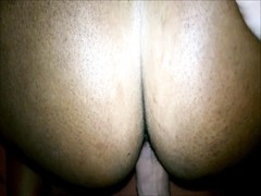 Amateur Ebony Creampie in doggystyle Thumb