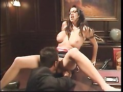 large knocker brunette secretary plumb Thumb