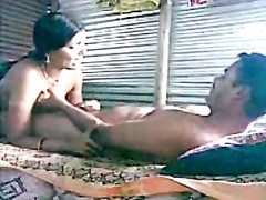 Desi- cheating north indian wife with her dude Thumb