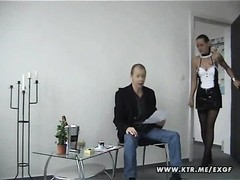A scorching brunette inexperienced wifey  deepthroats and fucks a stranger in a doctor waiting room Thumb