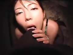 Erotic night time hookup with Japanese fledgling Thumb
