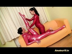 flexible lesbian gymnasts toying delicious labia tough deep Thumb