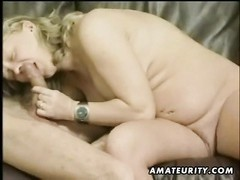 A steamy blondy pregnant inexperienced housewife homemade hardcore act with warm oral pleasure, vagi Thumb
