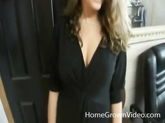 GF comes in and deep throats her guy Thumb