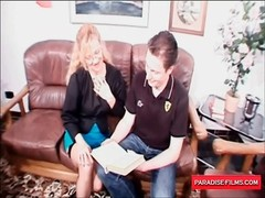 Paradise Films kinky German aged wife loves a large shaft Thumb