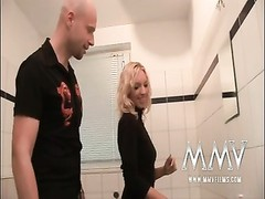 MMV Films German inexperienced lovers hookup in the bathroom Thumb