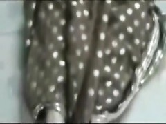 knockers poking  candy Aunty in Saree Thumb