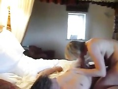 actual homemade wifey  filmed gargling  pals  prick Thumb