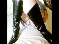 place you want to exhaust my wife while she wears knee tall boots Thumb