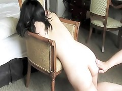 caning & cropping an inexperienced Japanese M Thumb