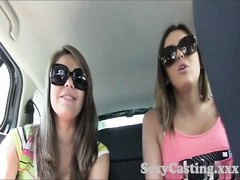 Casting Creampie for youthful brunette in casting Thumb