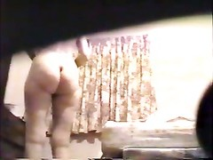 Chubby ass spied on by husband Thumb