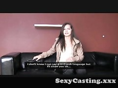 Casting - attractive bashful lady gets indeed  naughty Thumb