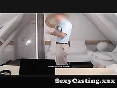 Casting - She's attend and this time she wants to bang Thumb