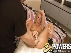 Blonde Girl Takes Ed's Cock Right In The Ass Thumb