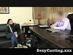 Casting unbelievable body inexperienced in interview Thumb