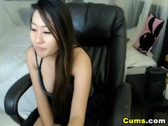 Busty Asian Babe Loves to Masturbate Thumb