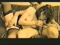 Two slender Russian girlfriends are getting in the foursome Thumb