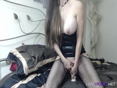 Charming flexible GILF and MILF Delyla with huge boobs Thumb