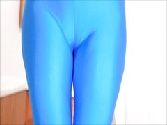 Spandex Angel - Cumming on my spandex Thumb