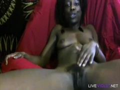 Chocolate squirter Dominique Pebble is ready get dirty Thumb