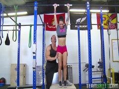 Workout turns into a dirty oral action with a fit hooker Christy Mack Thumb